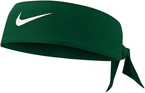 Nike Green Dri-Fit Head Tie 3.0 - Tie Headband - Green/White