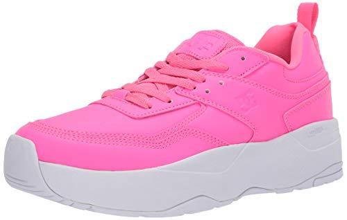 DC E.TRIBEKA Damen Plateauschuh Skateschuh, Hot Pink, 6 B M US