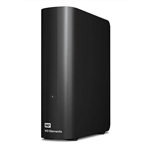 Western Digital WD Elements Hard Disk Esterno, Desktop, USB 3.0, 6 TB