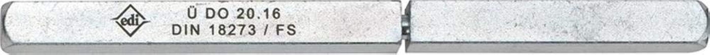 EDI Panikstift Typ Q Vierkant 9 mm 124 mm geteilter Vollstift
