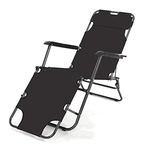 WGFGXQ Garden Chairs ,Outdoor Folding Zero Gravity Recliner, Adjustable Beach Chairs Sun Lounger Recliner,Maximum Load 200Kg,for Beach Patio Garden Camping