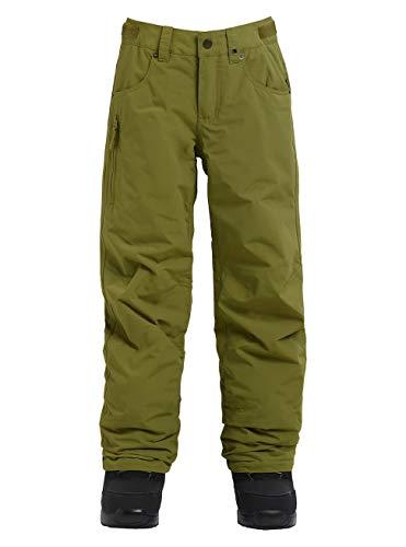 Burton Barnstorm Pantalón de Snowboard, Niños, Verde (Olive Branch), XS