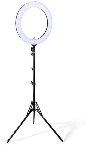 on tenck Aro Luz Led para Selfies para Fotografia Videos (Blanco) (10 Pulgadas)