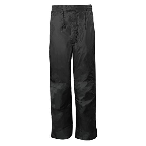 RPS Outdoors Ladies RX Rain Waterproof / Windproof Nylon Motorcycle Pants (Black, X-Large)