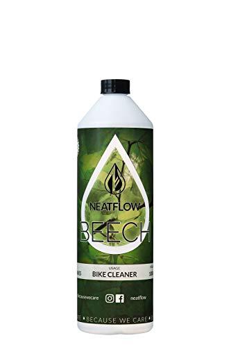 NEATFLOW - BEECH 1 liter fietsreiniging Refill - fietsreiniger biologisch afbreekbaar - reinigingsmiddel fiets vegan navulfles - fiets-reiniger spray - navulling voor BEECH