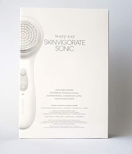 Skinvigorate Sonic Hautpflegesystem mit USB-Kabel sowie wasserdicht nach IPX7 Standard