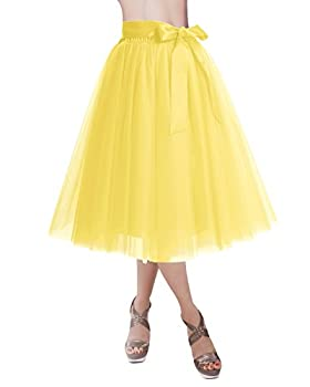 Best yellow tulle skirt Reviews