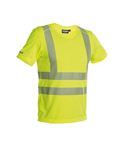 DASSY® Carter Warnschutz UV-T-Shirt DASSY HIVIS PES 06 - HIVIS STOFF NEONGELB L
