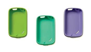 Striiv 3 Pack Soft Case  Purple Turquoise Green