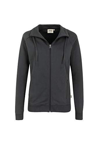Hakro WOMEN-SWEATJACKE COLLEGE # 406 (M, anthrazit)