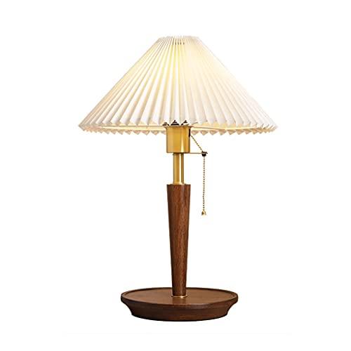 SMEJS American Cerámica Lámpara de mesa dormitorio mesita de noche creativa azul salón mesa lámpara china retro modelo habitación caliente control remoto