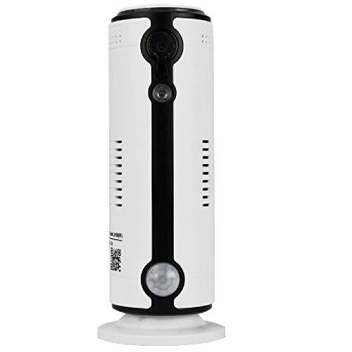 Gekocam - La Cam che attacchi ovunque - Telecamera GSM Wifi 4G con slot SIM e Batteria da interno in HD 1 Megapixel 110° P2P Wireless
