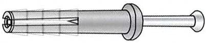 Super Special SALE held 3 4Inch L 1 D Hammr Drive Max 56% OFF Anchor Pk100 Of Pin 6 Pack