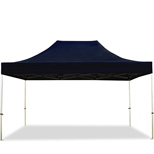 TOOLPORT Faltpavillon Faltzelt Premium NEO 3x4,5m - ohne Seitenteile ALU Pavillon Partyzelt Dach 100% WASSERDICHT schwarz