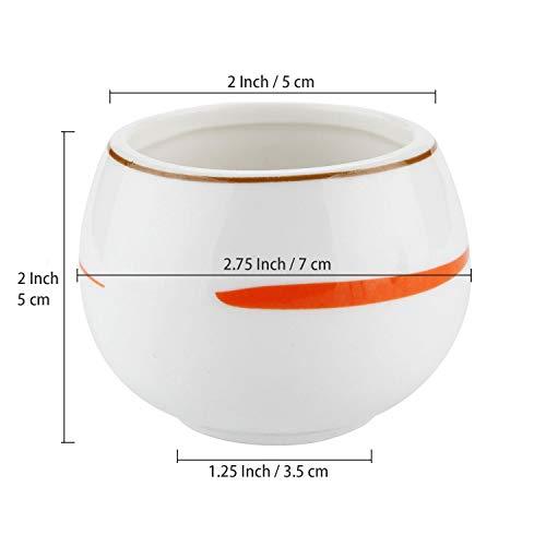 T4U 7CM サボテン 鉢 ミニ 多肉植木鉢 おしゃれ シンプルなデザイン - 6個セット