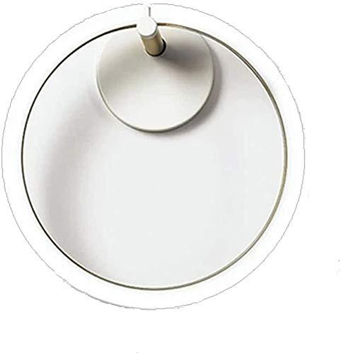 lámpara de pared LED Wall Sconence, Metal Wifi Lámpara de pared inteligente Clásico Luces de pared regulables de iluminación para dormitorio Sala de estar Sala de comedor Oficina de la sala de estudio