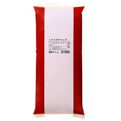 ハグルマJAS標準 トマトケチャップ5kg袋パック×2袋入×(2ケース)
