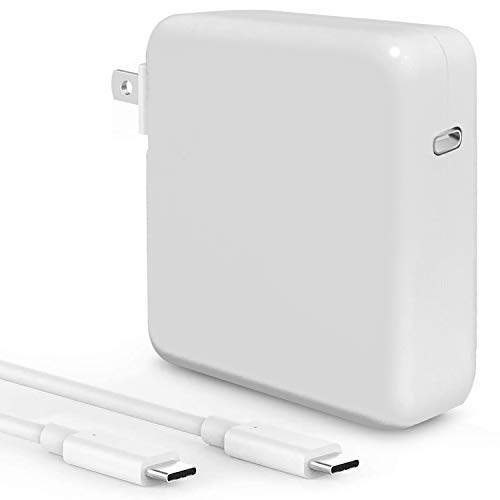 YIESERRA 61W USB C Charger Power Adapter for Mac Book Pro 13, 15 inch, New Mac Book Air 13 inch 2020/2019/2018, Mac Book 12 inch, Thunder Bolt 3 Mac Charger Power Supply,Type C