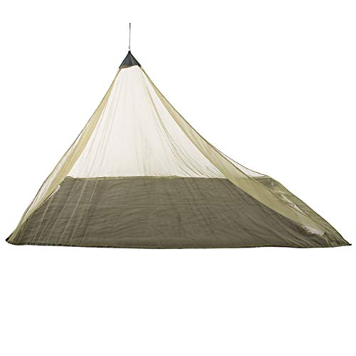 Garneck Camping Mosquito Net Travel Portable Anti Mosquito Nets Outdoor Insect Netting Cover Canopy Mesh Tent for Single Sleeping Bag (Army Green)