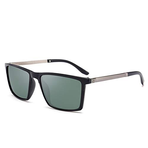 PrittUHU 2019 clásico Cuadrado de plástico polarizados Hombres Gafas de Sol Gafas de Sol de los Hombres Que conducen Gafas de Pesca (Lenses Color : 2)