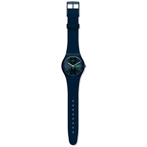 Montre Swatch Blue Rebel Original New Gent collection New Gent