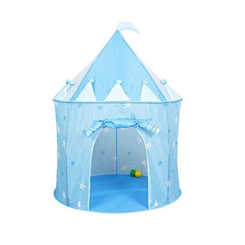 JFFFFWI Tente de clôture pour Enfants Piscine à balles Pliante Maison de Jeu château Tente Indienne bébé Jouet bébé Parc bébé Cadeau Fille (Couleur: Princesse, Fond Marin) (Couleur: Prince)