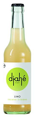 Djahé - Bio Ingwerlimonade - Ingwer-Zitrone inkl. 8 ct Pfand / DE-ÖKO-006