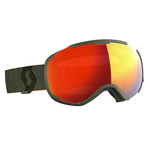 Scott Faze II Skibrille Oliv Einheitsgröße