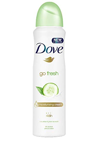 Dove Go Fresh Cetriolo Spray 100 ml travel size (Confezione da 6)