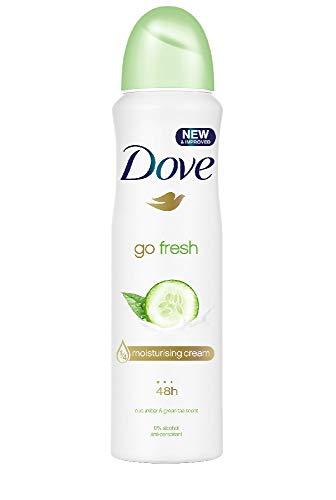 """Antitranspirant-Deo """"Go Fresh"""" von Dove - Gurke, Sprühflasche"""