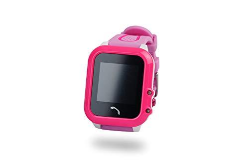 Xblitz Kids Watch GPS v. Find Me, roze, aanraakgevoelig scherm, SOS-functie, telefoonboek, meldingen, GSM-oproepen blauw/roze