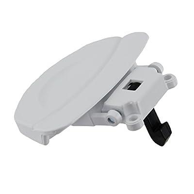 Washing Machine Door Handle Assembly Fits Baumatic/ Fagor/ Homark/ Sarena, White