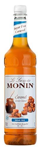 MONIN Premium Caramel Sugar Free Syrup 1 Litre