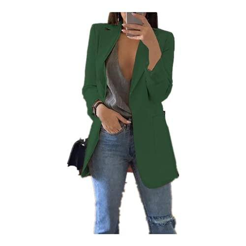 Las mujeres chaquetas de la chaqueta de la primavera otoño casual más el tamaño de la moda básica mu