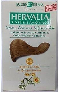 2 x HERVALIA 80 rubio claro tinte sin amoniaco: Amazon.es ...