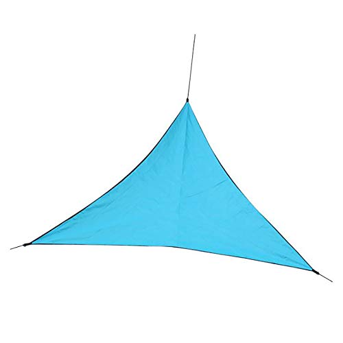 MOOVGTP Toldo triangular para sol, 4 x 4 x 4 m x 4 m