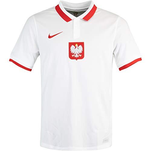 Nike Poland Polen Trikot Home Kids (XL, White/red, x_l)