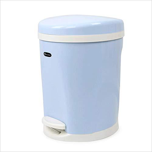 GAOLILI Creative Shaking Carr/é Poubelles Canettes Maison Salle De Bains Salon Chambre Dustbins Couleur : Bleu
