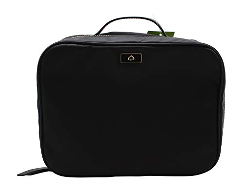 Kate Spade New York Large Dawn Travel Cosmetic Case Bag WLRU5378 Black