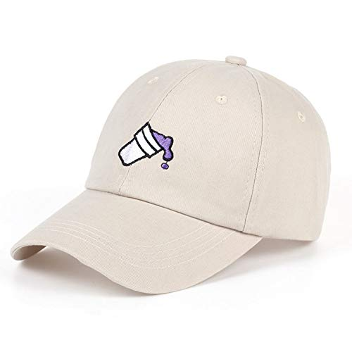 KAIDANB BaseballmützeStickerei-Koks-Schale im Freienvati-Kappen-Mann-Frauen-Art- und Weisebaseballmütze-Klassische beiläufige Golf-Hut-Art- und Weiseschirmmütze-Hüte,3
