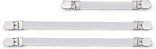 Brabantia 108266 Clips de Fixation pour Housse de Repassage, 3 pcs, Autre, Blanc, 30 x 20 x 10 cm