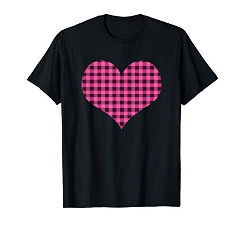 Regalo De Tartas De Búfalo De Corazón Rosa De San Valentín Camiseta