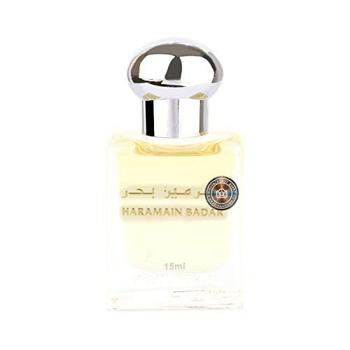 Al Haramain Badar - Perfume puro sin alcohol, 15 ml