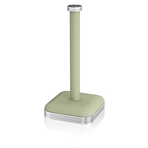 Swan Retro Kitchen Roll Holder with Steel Weighted Base, Green
