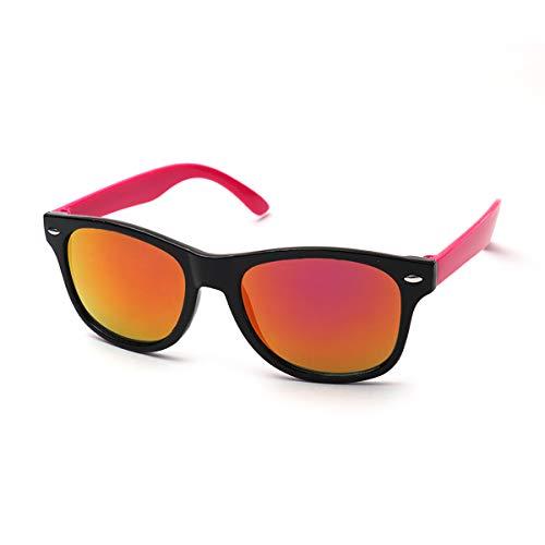 KIDDUS Zonnebril voor kids, kinderen, jongen, meisje. Vanaf 6 jaar. 100% UV-bescherming. Schokbestendig. Comfortabel en veilig