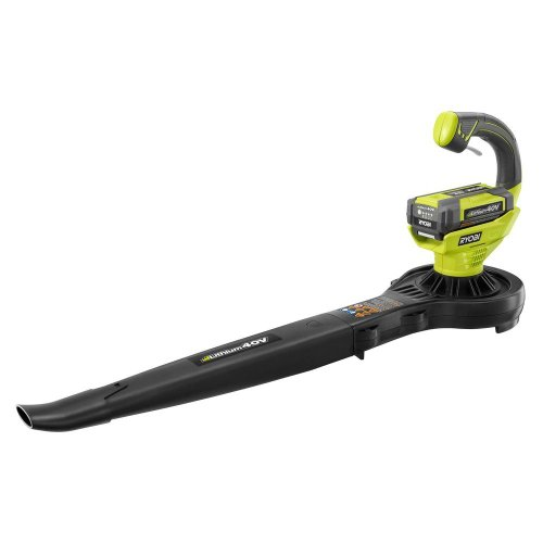 Ryobi 150 Mph 150 CFM 40-volt Lithium-ion Cordless Blower/sweeper - Battery and Charger Not Included