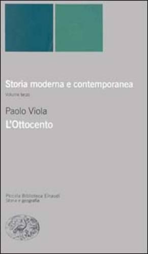 Storia moderna e contemporanea. L'ottocento (Vol. 3)