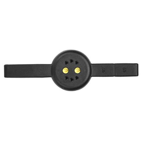 Injoyo Lampada Per Polimerizzazione Asciuga-unghie Con Magnete Per Nail Art Per Smalto Per Gel UV Cat Eye - Nero, 13,5 x 5,4 x 2,3 cm
