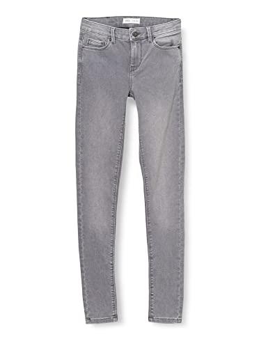 Springfield Jeans Jegging Lavado Sostenible Pantalones, Gris Oscuro, 40