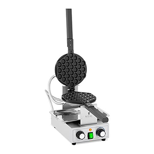 Royal Catering Gofrera de burbujas RCPMW-1400K 1400 W, 50 - 250 °C, temporizador: 0 - 5 min